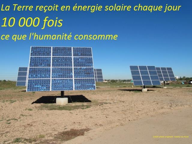Solar panel 10000 fois